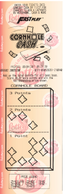Cornhole Cash Ticket