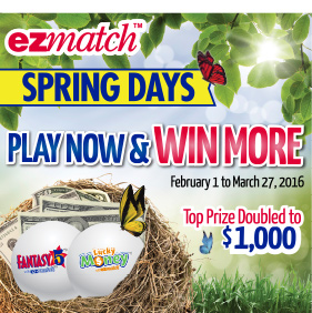 EZmatch Spring Days - Play Now & Win More