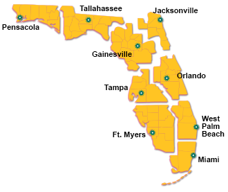 Florida Lottery Districts Offices