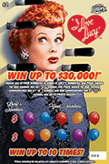 1329-I Love Lucy Scratch-Off Ticket